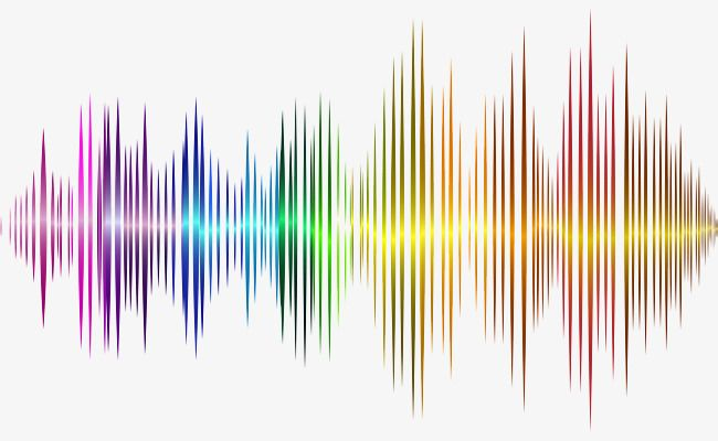 Vector Sound Wave Curve Png Picture Colorful Audio Sound Png