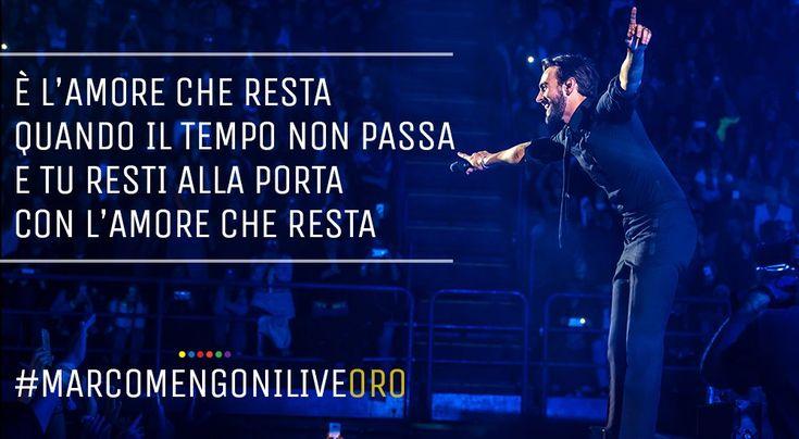 12 dicembre 2016 - Marco Mengoni Live - ORO (25.000)