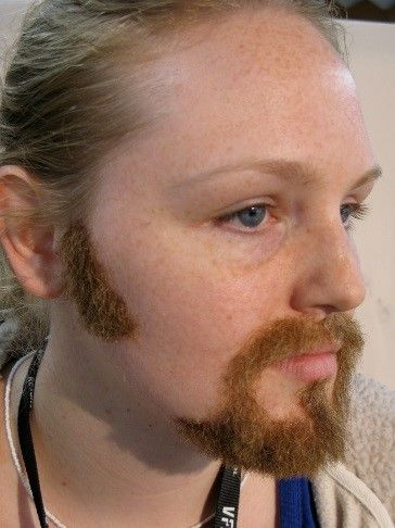 We'll teach you how to make a fake beard just like this one from the Vancouver Film School.