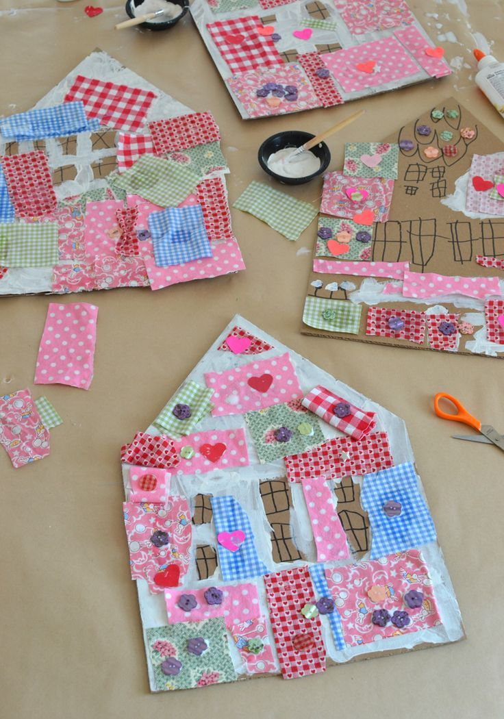 Material off-cuts//scraps ideal for patchwork or dolls house crafts