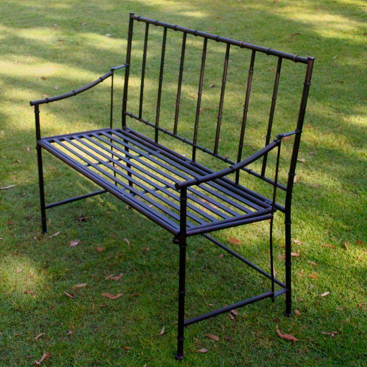 Elegant Folding Garden Bench. Perfect For A Colonial Style Verandah Or  Terrace $350 @ Www