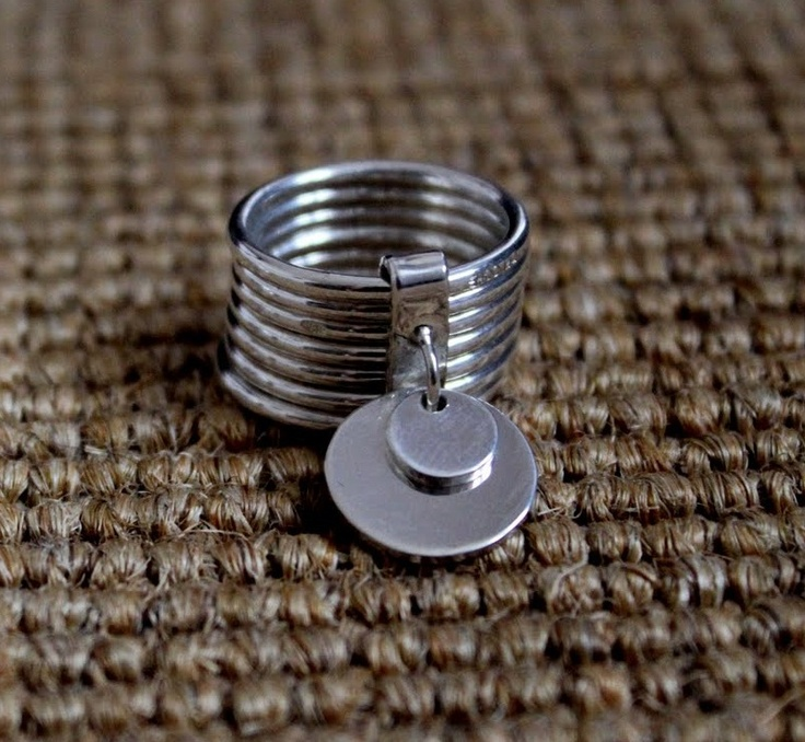 Ring in silver Marc Deloche