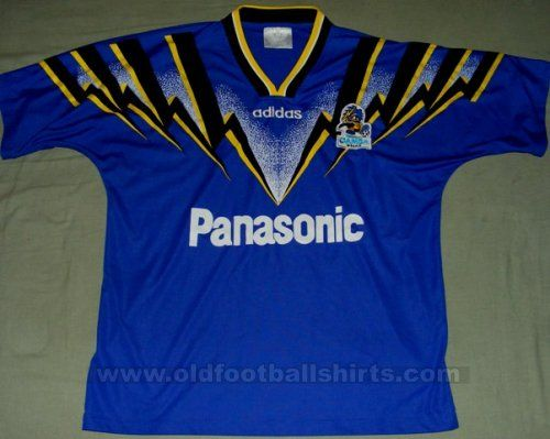 Gamba Osaka Casa camisa de futebol 1996 - 1997