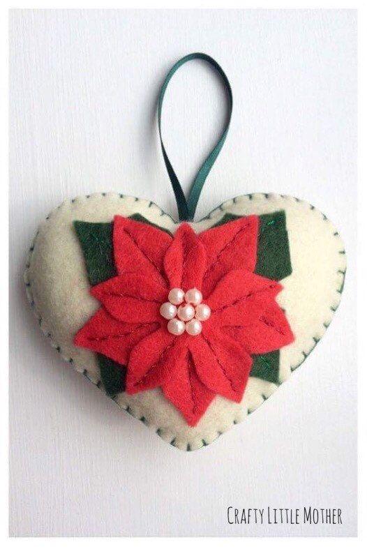 M s de 25 ideas nicas sobre adornos navide os hechos a - Regalos navidenos hechos a mano ...