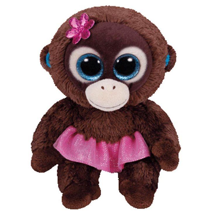TY Beanie Boo Plush - Nadya the Monkey 15cm in Toys & Games, Beanies, Ty Plush | eBay