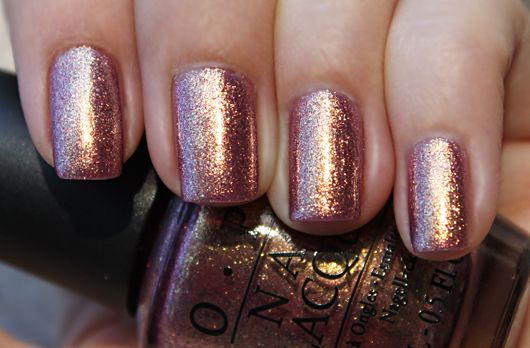 OPI Rally Pretty Pink (rose gold shimmer)
