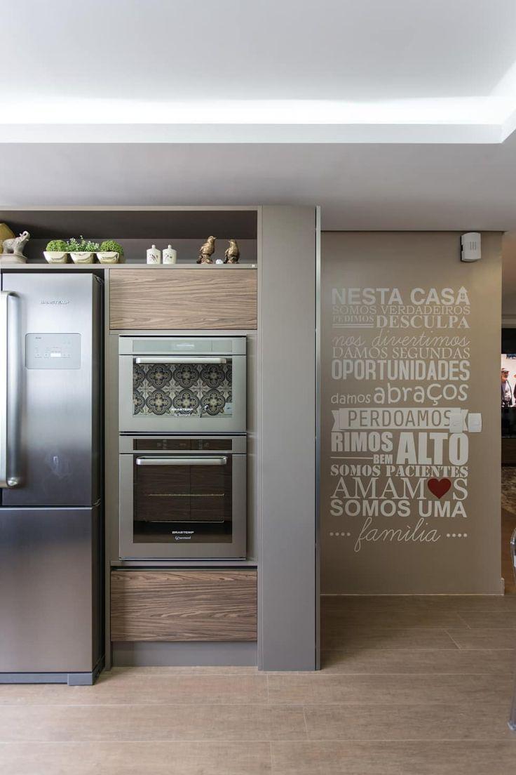 Cozinha_14m²: Cozinhas minimalistas por Cassiana Rubin Arquitetura
