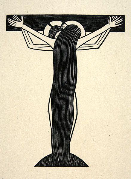 Nuptials of God 1923 Eric Gill