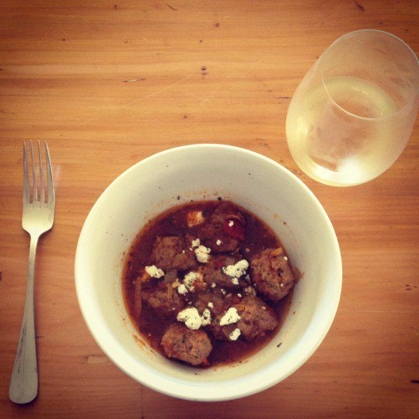 Greek meatballs recipe - perfect for winter