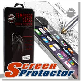 For Iphone 6s 6s plus shield Screen Protector Film Tempered Glass For S6 S6 edge For iPhone 6 6 plus iphone 5 Samsung S5 Note 5 retailbox