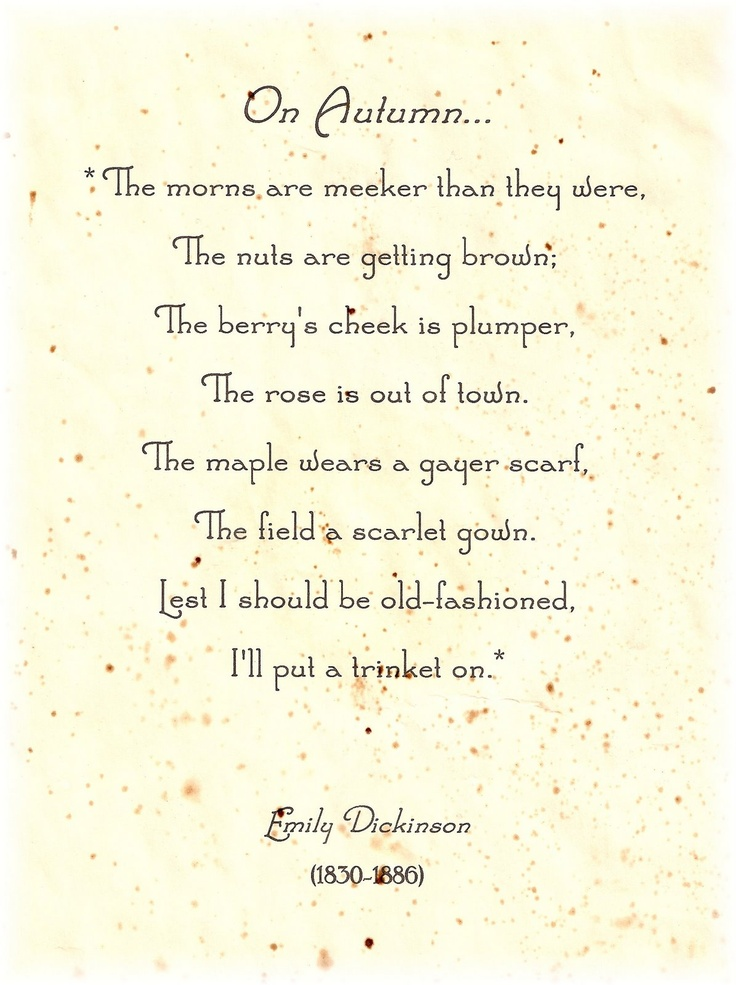 an analysis of the works of emily dickinson One of emily dickinson's most popular poems is i'm nobody who are you this poem seems to have a light and funny theme because it is about a nobody since most people usually think they are somebody's, emily tells them that they really are not.