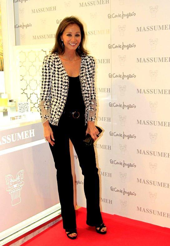 Isabel Preysler se apunta a las cremas de Massumeh