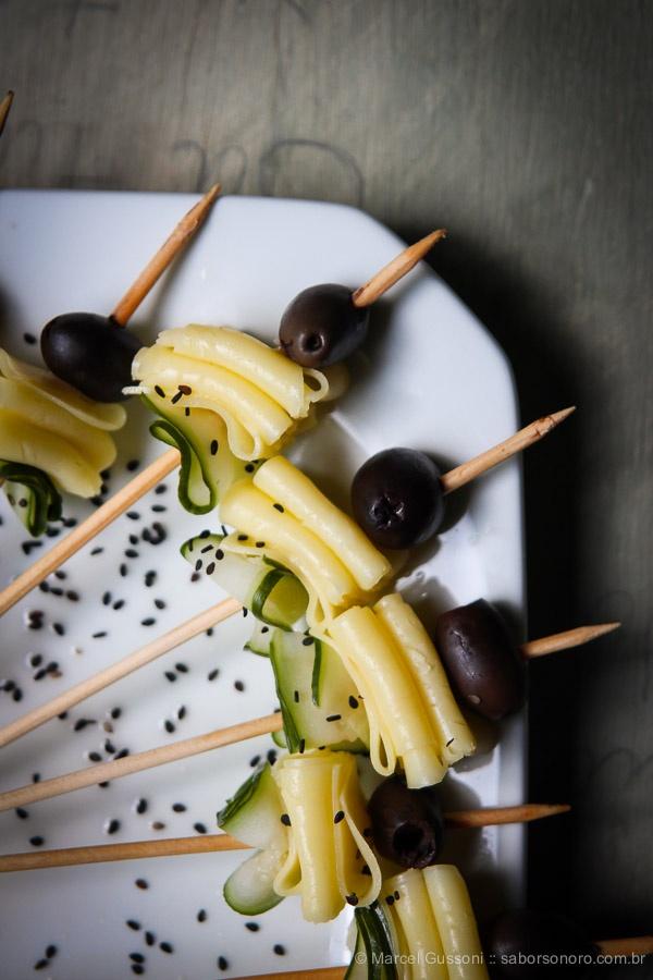 japanese salad on a stick
