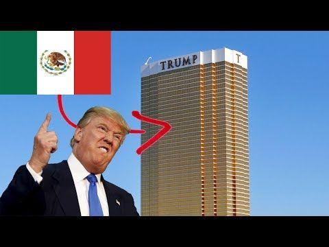 Intentando poner la bandera de MÉXICO en la TORRE TRUMP!! (HotSpanish Vlogs) - YouTube