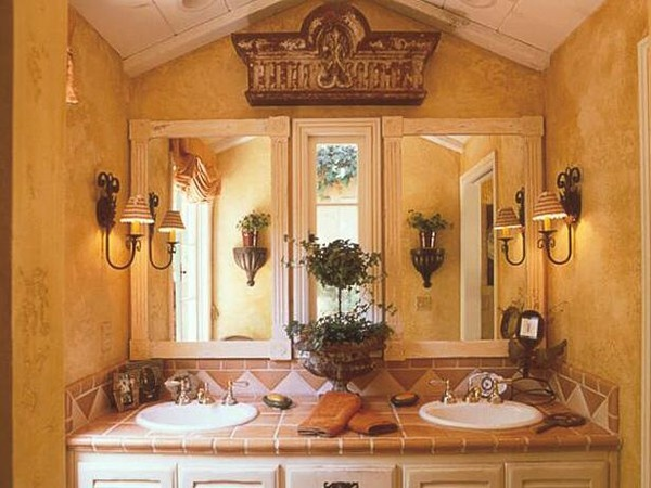 Tuscan Bathroom Colors