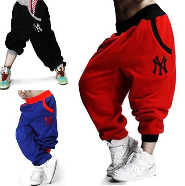 Широкие спортивные штаны мужские хип хоп