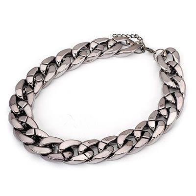 Gun metal choker necklace  Code: C07485  Price: R60.00