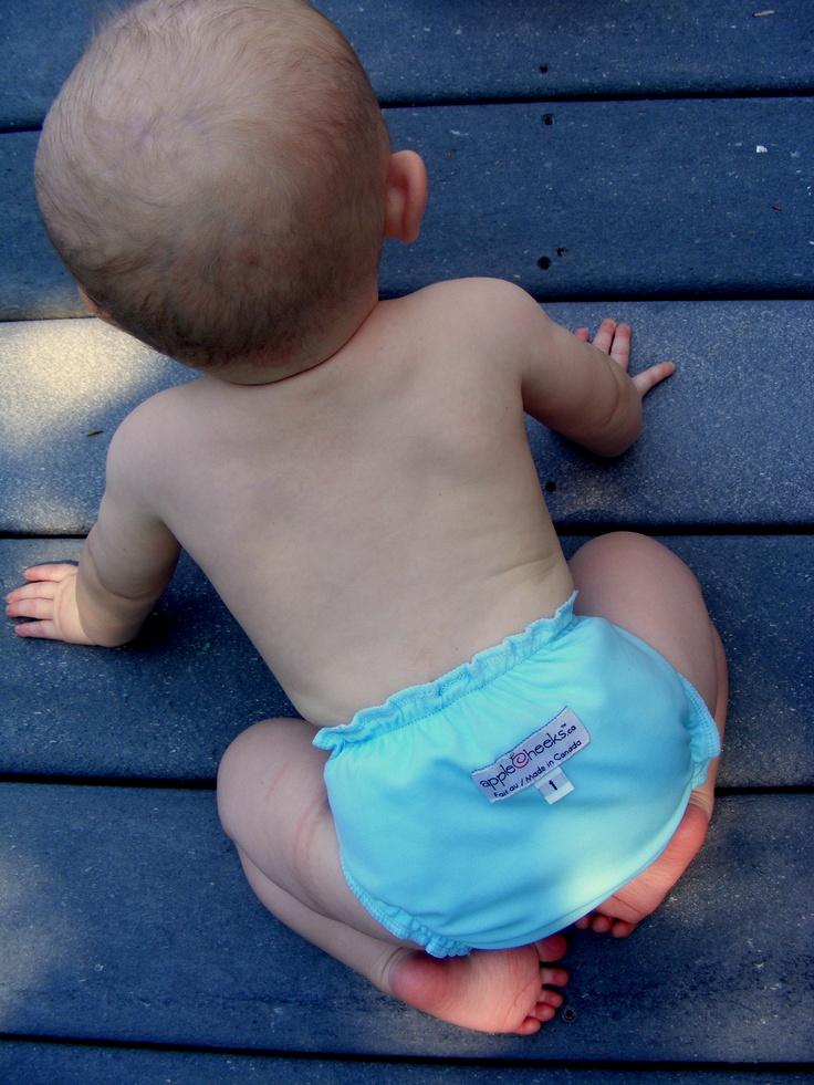 A Super Cute Bum:-) @Diaper Shops @Pamela Spell-Mata Diapers #beachbash