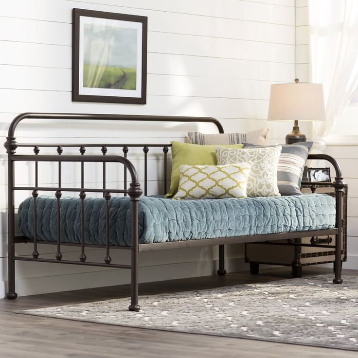 daybeds farmhouse iron country
