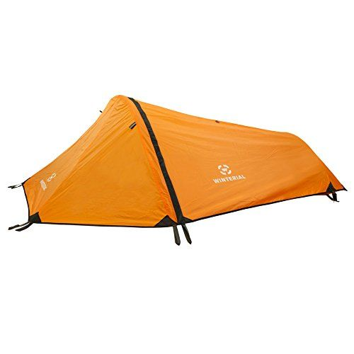 Winterial Single Person Tent, Personal Bivy Tent. Lightweight 2 Pounds 9 Ounces. For product info go to:  https://all4hiking.com/products/winterial-single-person-tent-personal-bivy-tent-lightweight-2-pounds-9-ounces/