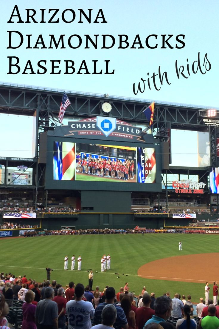 A Family-Friendly Evening With the Arizona Diamondbacks: Find out why baseball with the Dbacks is a perfect family-friendly outing while visiting Phoenix.