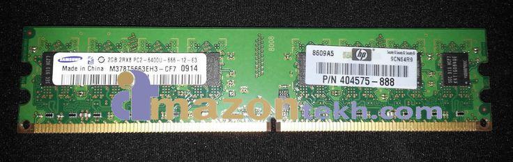 404575-888 - GENUINE ORIGINAL HP 2GB (1x2GB) 800MHz PC2-6400 DDR2 ECC MEMORY DIMM