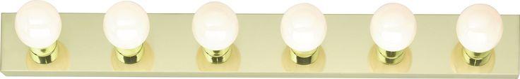 """6-Lights 36"""" Bathroom Vanity Lights"""