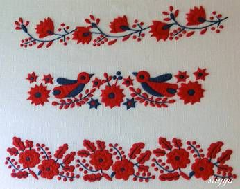 先日サノフラワーの体験レッスンが行われたカフェで「ハンガリー刺繍展」が開催されていたので見てきました。 ハンガリー刺繍と言えば  色鮮やかなイメージがあります。カラフルでかわいい。こちらのタイプはpart1での展示だったそうです。 私が見てきたのはpart2、え?これもハンガリー...