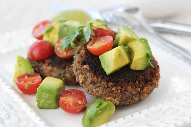 Black Bean Patties LS by CookinCanuck, via Flickr