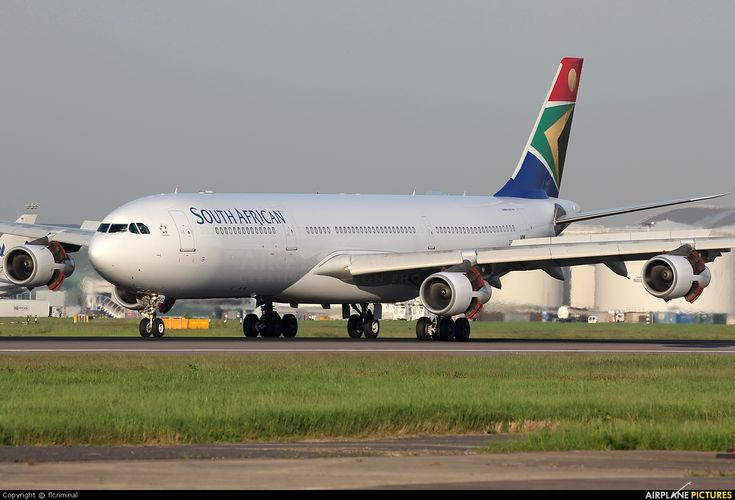 Now that's what we call a plane! Check out the Airbus A340-300.