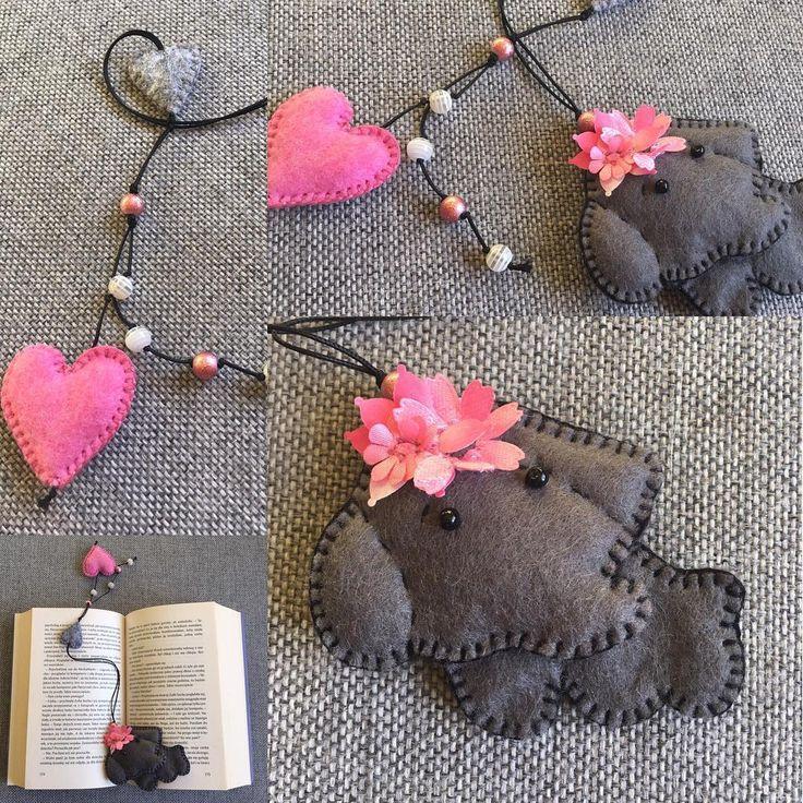 Słonik 😊#bookmark #zakladka #zakladkadoksiazki #filc #szycie #nasprzedaz #sprzedam #slon #elephant #serce #heart #robotkireczne #handmade #dladzieci #instacraft #kochamczytać #design #prezent #niezchinzpasji #forsale #mikołajki #prezent