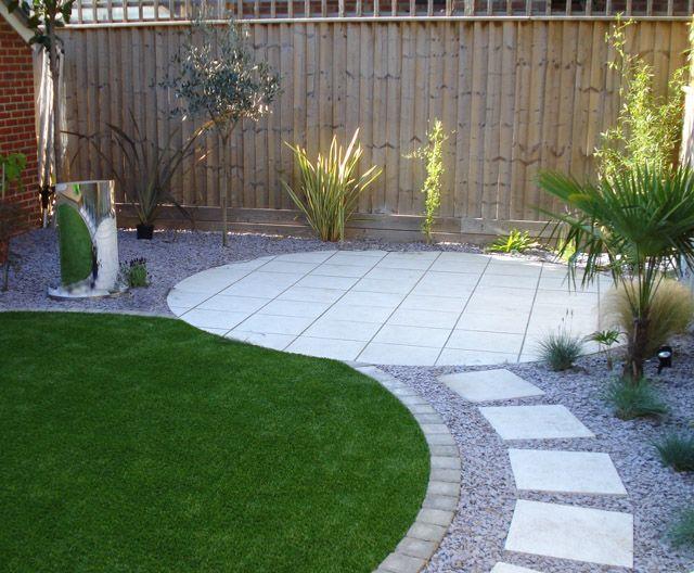 Bradstone Kreis aus poliertem Stein – Garten design