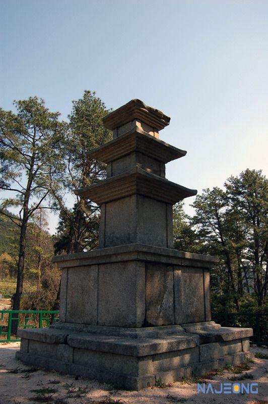 효현리3층석탑, 전 애공사지