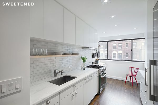 Five Design Tricks Transform an Uptown Kitchen