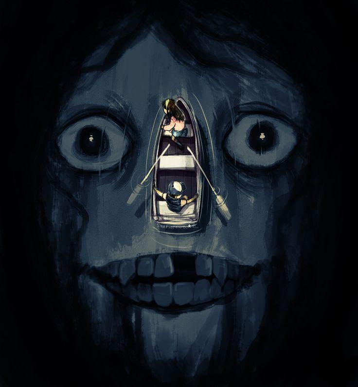 Znalezione obrazy dla zapytania creepy gravity falls fanart