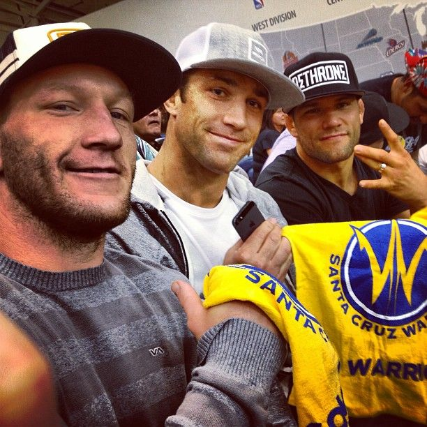 Big thanks to Josh Thomson, Gray Maynard and Luke Rockhold for their support!
