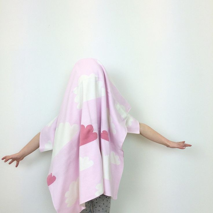 Cotton Knitted Blanket - Sky High Pink