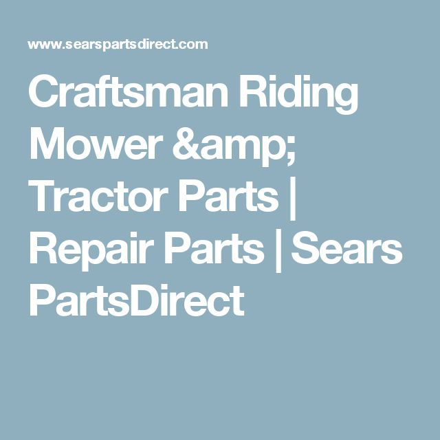 17 best ideas about Sears Craftsman Parts on Pinterest John