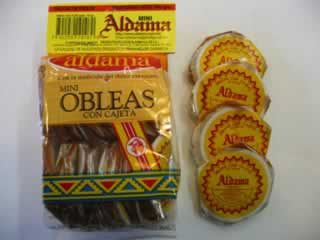 Mexican Candy | Obleas Con Cajeta - i remember my abuela used to sell these and other candies at her puestesito in Mexico. They are my favorite.