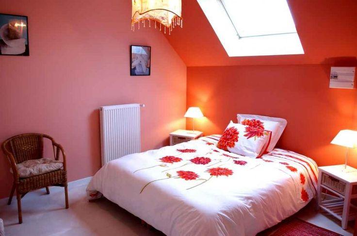 incredible hot pink orange bedroom | 192 best orange and pink rooms images on Pinterest | Homes ...