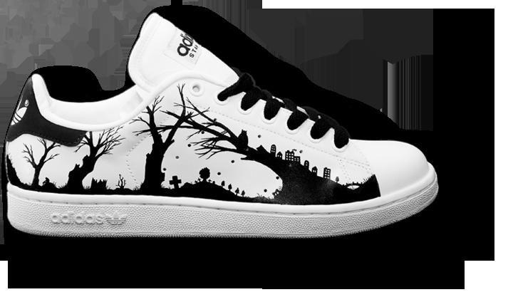 Look Down - Custom Sneakers