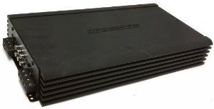 BMF600.4 - Crossfire 4-Channel 600W Amplifier by Crossfire. $298.99. BMF Series 4-Channel Class A/B Car Amplifier RMS Power Rating: (12.5V) 4 ohms: 75 watts x 4 chan. 2 ohms: 150 watts x 4 chan. Bridged, 4 ohms: 300 watts x 2 chan. Total power output: 600 watts RMS. High efficiency MOSFET power supply LED power (green) indicator Variable Bass Boost (0 to +12 dB at 45Hz) Soft Start, on/off circuitry Simultaneous Mono/Stereo operation capability Military spec. audiophile grade comp...