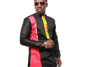 Usure de la mode africaine masculine avec la par NayaasDesigns