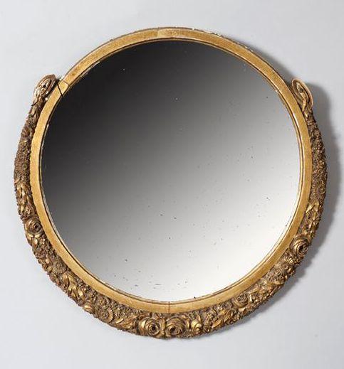 17 best images about paul follot on pinterest auction - Miroir rond dore ...