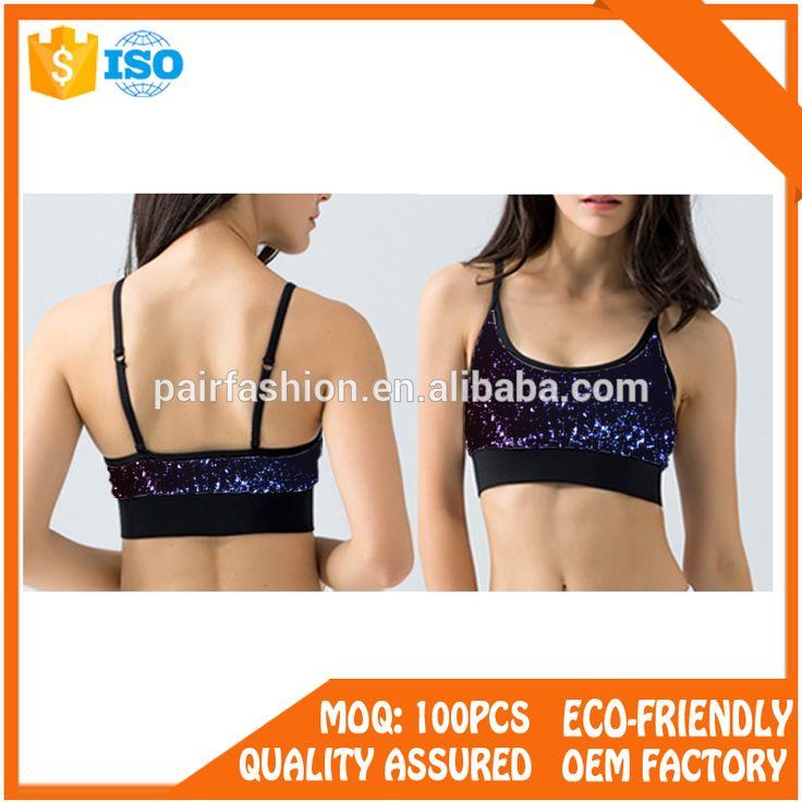 Sport women gym wear bra fitness wear ladies sexy yoga bra