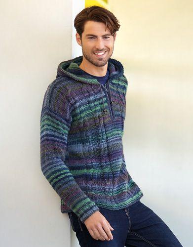 Book Woman Sport 90 Autumn / Winter | 24: Man Sweater | Green-Blue-Violet