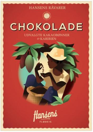 Chokolade » Hansens Flødeis » Kunst » Plakat