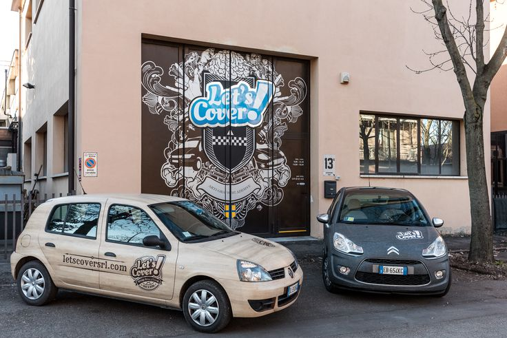 Car wrapping by Let's Cover Modena