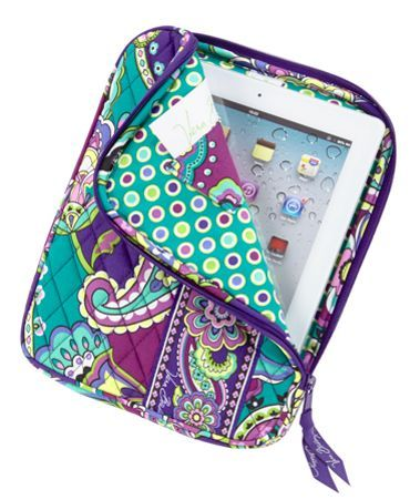 "8"" x 10 ¼"" x 1"" Vera Bradley ""Heather"" Tablet Sleeve $38.00 #MySuiteSetupSweepstakes"