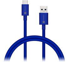 Connect It Wirez COLORZ Kabel USB-C (Type C) - USB-A, 1 m, modrý